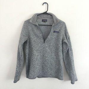 Patagonia W's Better Sweater® 1/4-Zip, Birch White